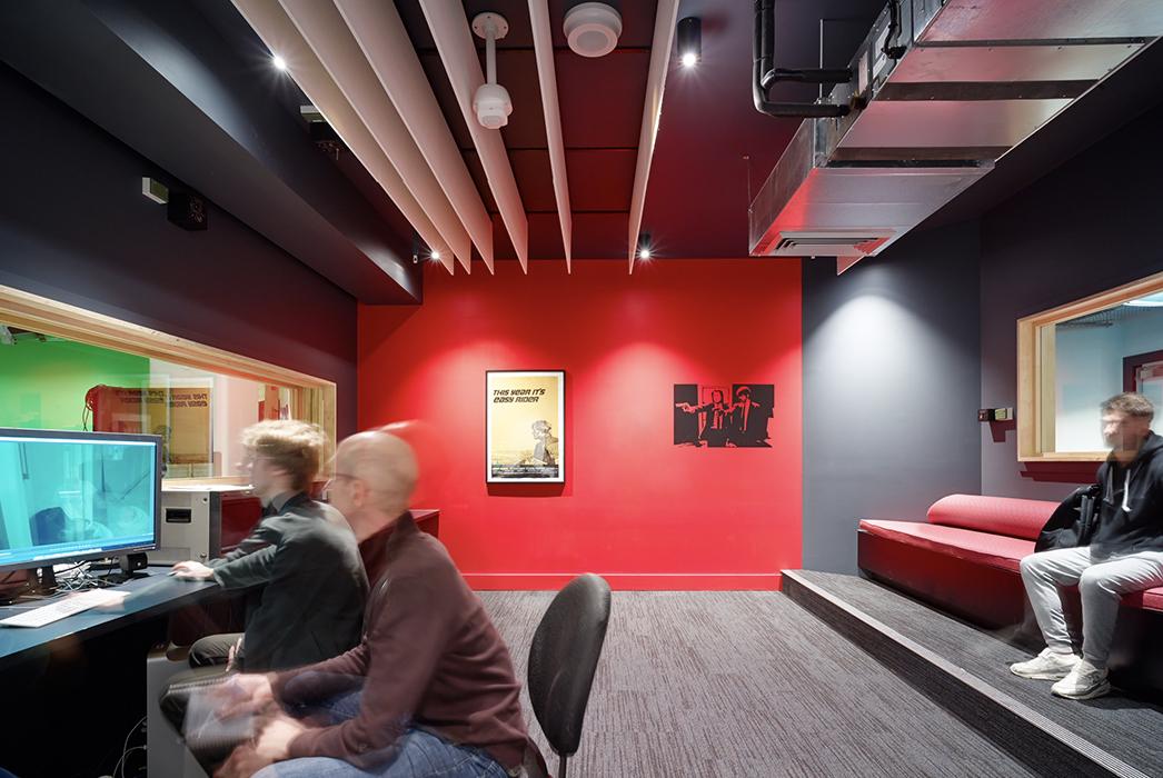 SAE Media Institute Sydney Wynyard, SAE, Tertiary Education Design, Education Design, Phillips Smith Conwell