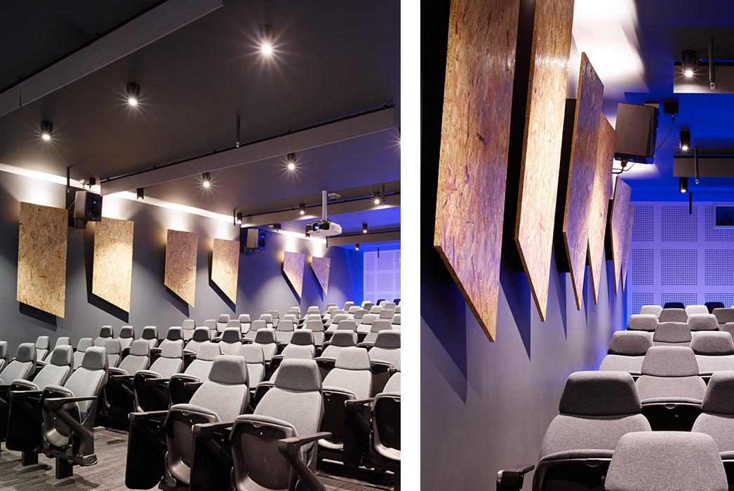 SAE Media Institute Sydney Wynyard, SAE, Tertiary Education Design, Education Design, Phillips Smith Conwell, lecture theatre