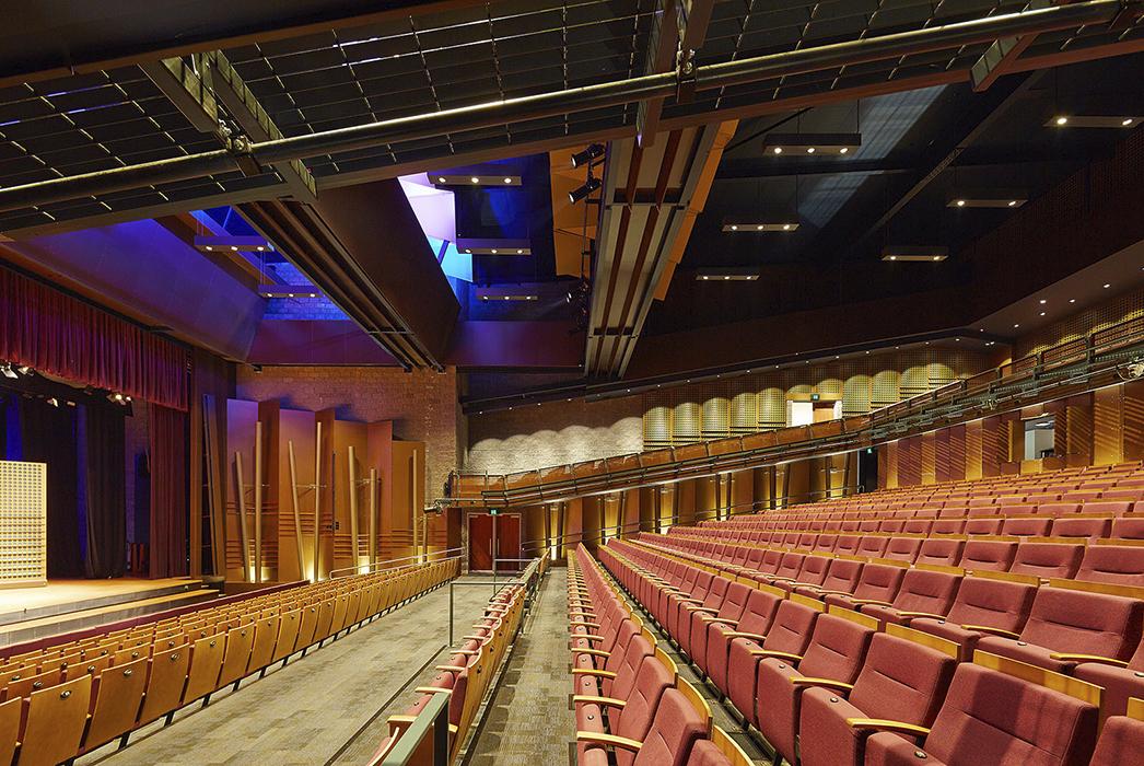 St Peters Lutheran College, Performing Arts Precinct, Phillips Smith Conwell, Education Architecture, Interior design, Brisbane architect, queensland architect, australian architect