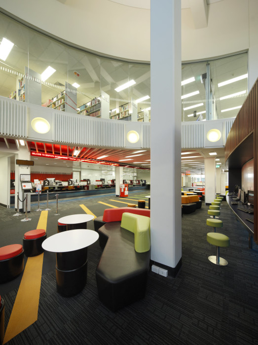 Phillips Smith Conwell N53 Student Admin Library Griffith University