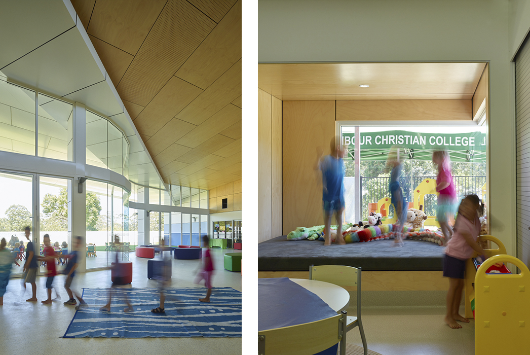 NCC Early Learners Centre, Phillips Smith Conwell, Brisbane Architect, Queensland architect, childcare centre design, childcare centre architecture, early learning architecture