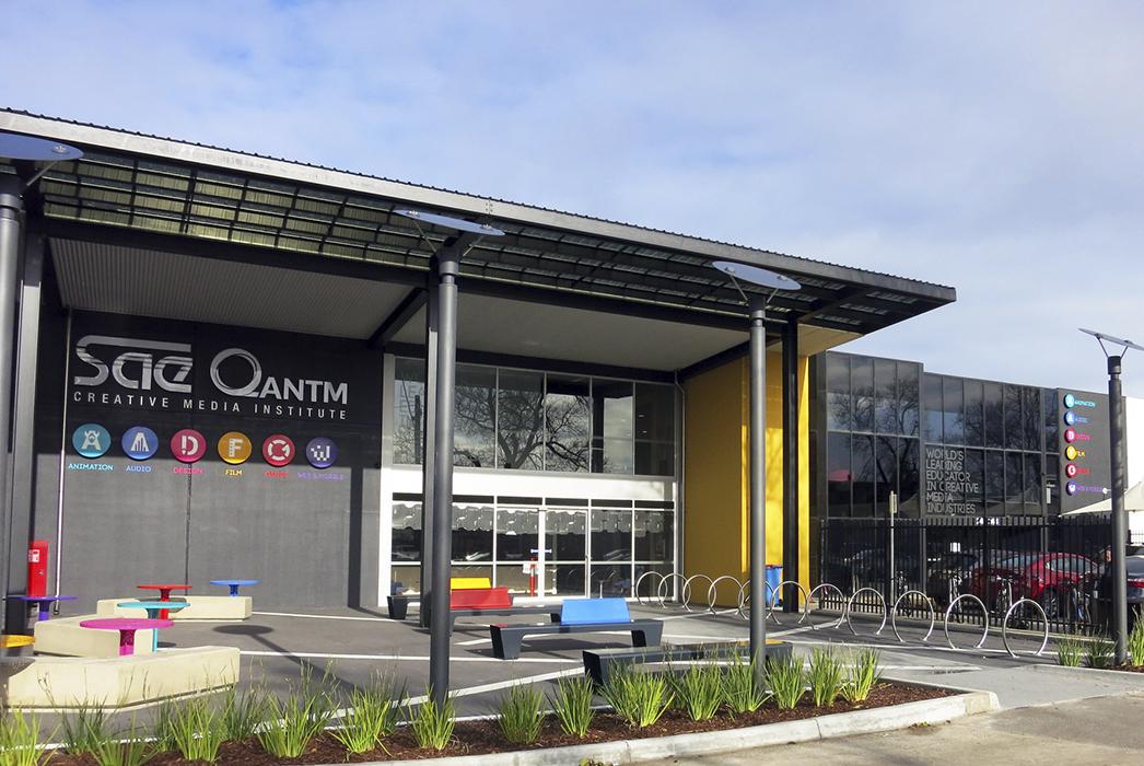 Phillips Smith Conwell, PSC architects, SAE Melbourne, Tertiary education design, interior design, interior architecture