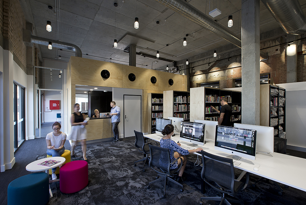 SAE Media Insitute Perth, SAE, Tertiary Education Design, Education Design, Phillips Smith Conwell