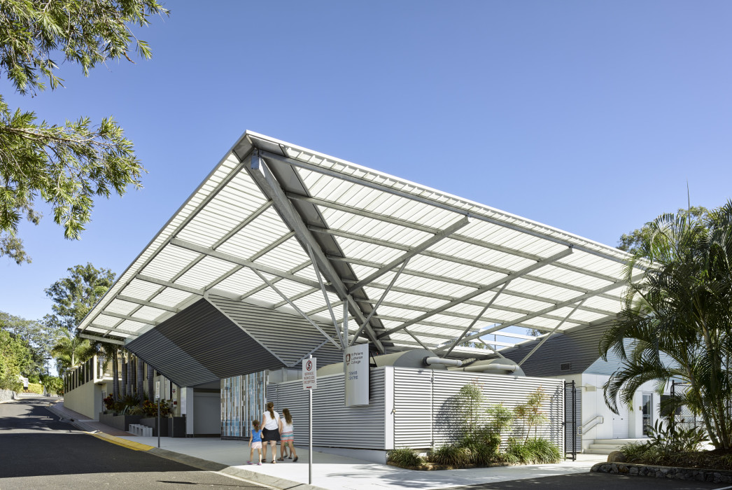 St Peters Lutheran College, Sports Facility, Pool, Tennis Court, Phillips Smith Conwell architects, PSC