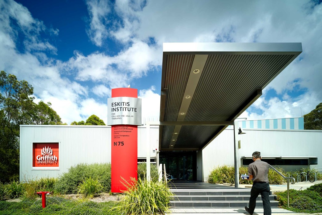 The Griffith Institute for Drug Discovery, GRIDD, Griffith University, Lab architecture, lab design, research facility design, Phillips Smith Conwell, PSC architects