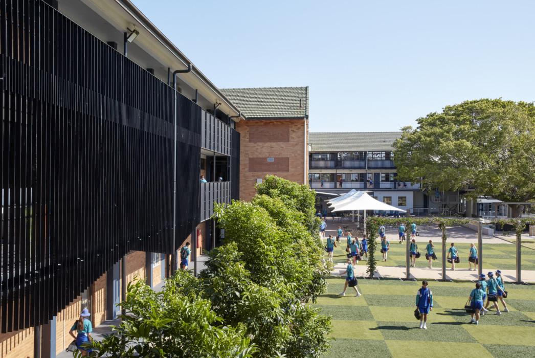 Phillips Smith Conwell, Brisbane Architect, Queensland architect, catholic education, brisbane catholic school, school architecture, school refurbishment, secondary school design, australian architecture
