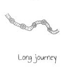 Indigenous symbol, long journey, phillips smith conwell